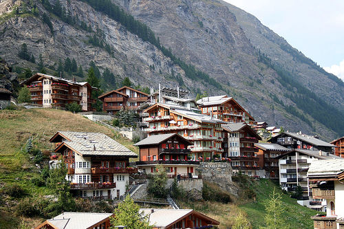 Swiss Chalets in Zermatt