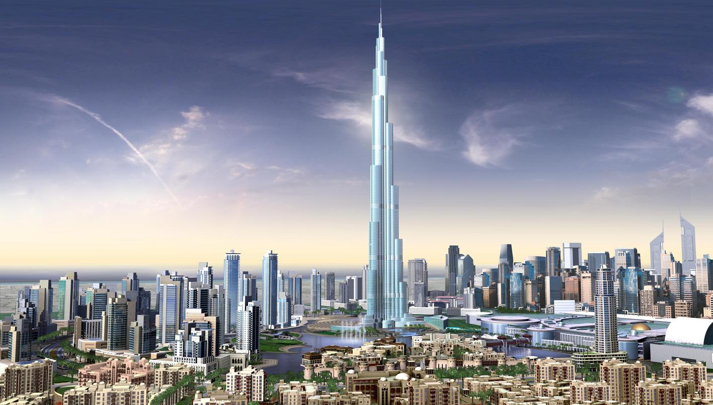 burj - Highest Buildings