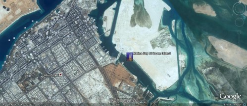 marina-bay-al-reef-island-abu-dhabi-location-google-earth