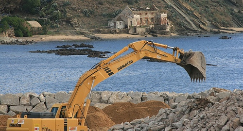 construction in tarifa, spain