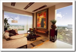 Concourse Skyline - Living Room