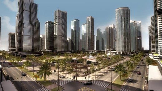 Executive-Towers-in-Al-Helio-Downtown-in-Ajman