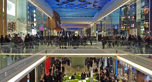 Westfield London Shopping Centre in