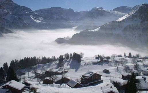 Quiet-Swiss-Mountain-Chalet-apartments-Braunwald-Switzerland