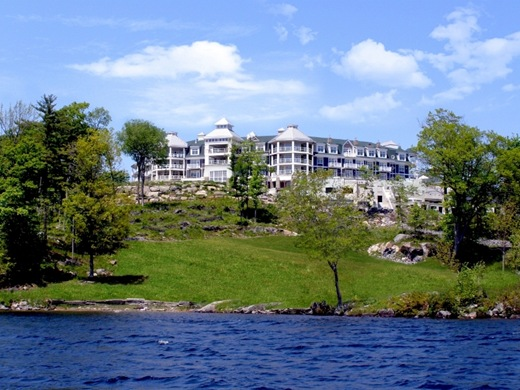 The Rosseau at Red Leaves, Muskoka, Summer 2008