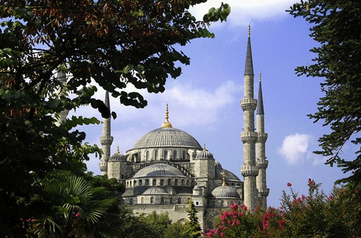 istanbul-turkey-Blue-Mosque-Sultanahmet-Park-Istanbul.