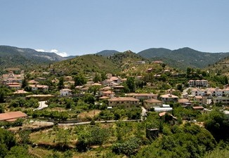 valley in cyprus