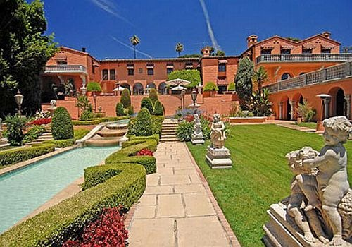 hearst-mansion=beverly-hills-165-million-dollars