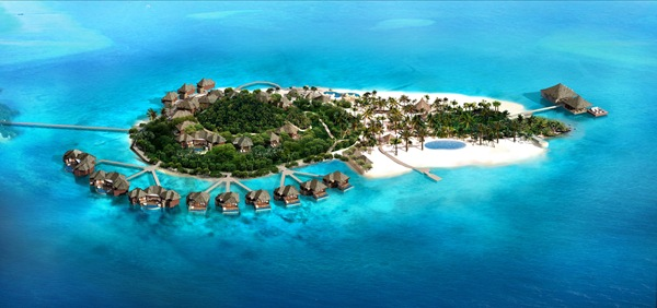 Song Saa Private Island - Aerial View