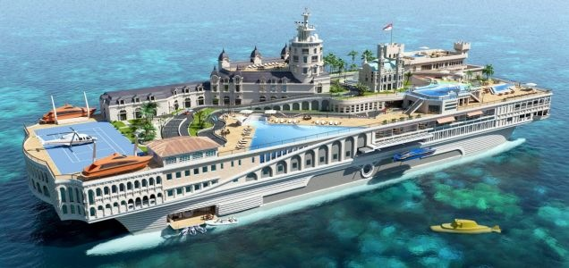 Streets of Monaco to Sail the Seas as first Billion Dollar