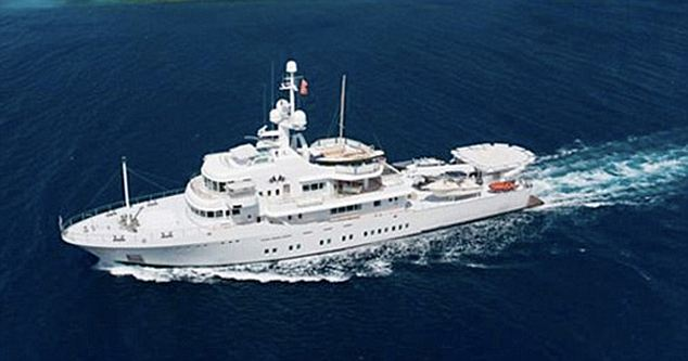 Larry Page Yacht