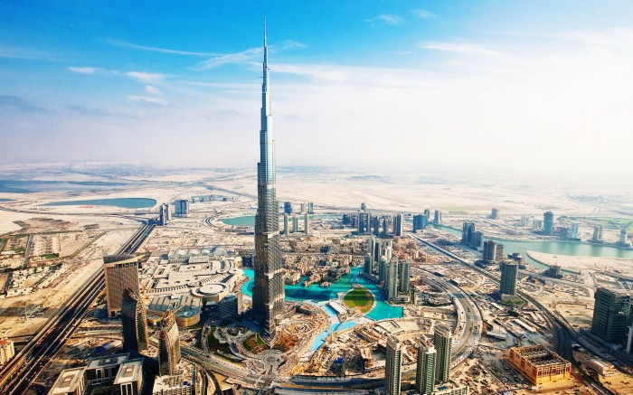 Burj Khalifa Dubai, UAE - 2nd Tallest Building in the World