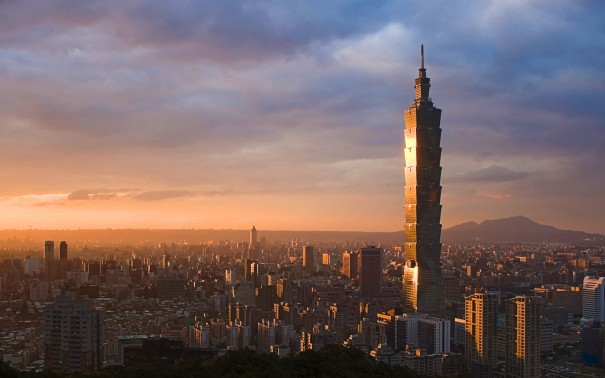 Taipei 101, Xinyi, Taipei, Taiwan - 4th Tallest Building in the World