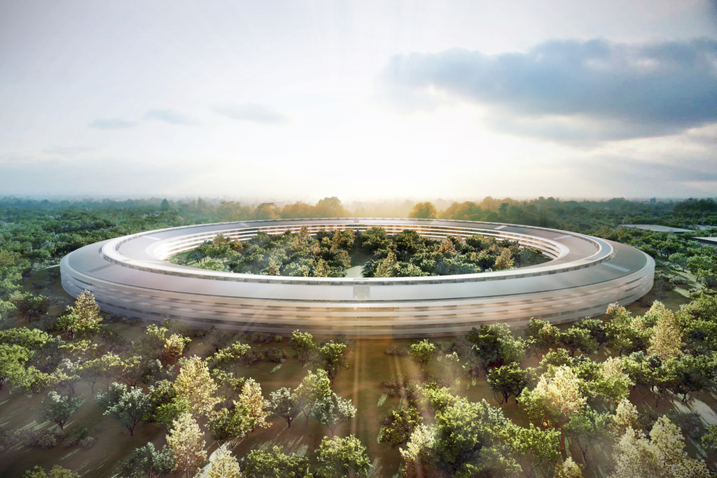 Apple's Futuristic 'Spaceship' Campus Headquarters Lands in 2016