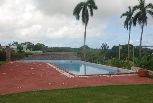 Villa in Dominican pool